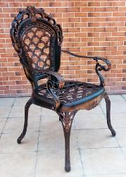 Кресла из литого алюминия Корона Арки_1