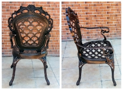 Кресла из литого алюминия Корона Арки_2