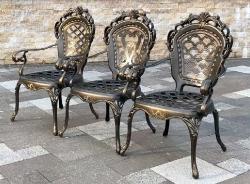 Кресла из литого алюминия Корона Арки_8